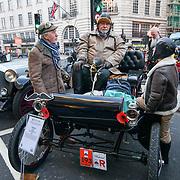 Regent Street Motor Show over 100 veteran cars display in London, UK. 3 November 2018. Credit: Picture Capital