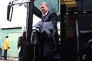 Ronald Koeman, the Everton manager arrives at Vicarage Road Stadium via the team coach. Premier league match, Watford v Everton at Vicarage Road in Watford, London on Saturday 10th December 2016.<br /> pic by John Patrick Fletcher, Andrew Orchard sports photography.