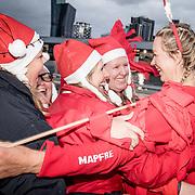 © Maria Muina I MAPFRE. © Maria Muina I MAPFRE. Arrival of leg 3 from Cape Town to Melbourne. Llegada de la etapa 3 de Ciudad del Cabo a Melbourne.