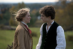 RELEASE DATE: December 25, 2019 TITLE: Little Women STUDIO: Columbia Pictures DIRECTOR: Greta Gerwig PLOT: Four sisters come of age in America in the aftermath of the Civil War STARRING: TIMOTHEE CHALAMET as Theodore 'Laurie' Laurence, SAOIRSE RONAN as Jo March. (Credit Image: © Columbia Pictures/Entertainment Pictures/ZUMAPRESS.com)