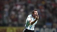Fotball<br /> Copa America 2007<br /> 05.07.2007<br /> Foto: imago/Digitalsport<br /> NORWAY ONLY<br /> <br /> Argentina v Paraguay<br /> Javier Mascherano (Argentinien) - Torjubel