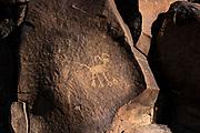 Petroglyph in Little Petroglyph Canyon, Kern County, California