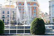 Fuente de Cibeles, Plaza de Cibeles, Madrid, Spain
