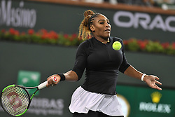 March 8, 2019 - Palm Desert, California, Usa - Tennis : BNP Paribas Open 2019 - Serena Williams - USA (Credit Image: © Panoramic via ZUMA Press)