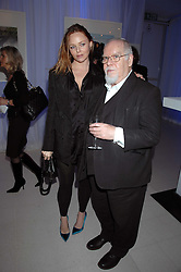 STELLA McCARTNEY and SIR PETER BLAKE attending the Tag Heuer party where an exhibition of photographs by Mary McCartney celebrating 15 exception women from 15 countries was unveiled at the Royal College of Arts, Kensington Gore, London on 8th February 2007.<br /><br />NON EXCLUSIVE - WORLD RIGHTS