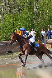 Van Asselberghs Philippe, BEL, Honki Tonki Boy<br /> Nationale LRV-Eventingkampioenschap Ponies Minderhout 2017<br /> © Hippo Foto - Kris Van Steen<br /> 30/04/17