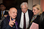 FARID KARIM; ; JOHN SIMPSON; DEE KRUGER, Launch of book by Basia Briggs, Mother Anguish. The Ritz hotel, Piccadilly. 4 December 2017