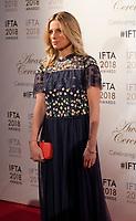 Eva Birthistle at the IFTA Film & Drama Awards (The Irish Film & Television Academy) at the Mansion House in Dublin, Ireland, Thursday 15th February 2018. Photographer: Doreen Kennedy