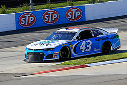 March 23, 2019 - Martinsville, VA, U.S. - MARTINSVILLE, VA - MARCH 23:  #43: Darrell Wallace Jr., Richard Petty Motorsports, Chevrolet Camaro Transportation Impact during practice for the STP 500 Monster Energy NASCAR Cup Series race on March 23, 2019 at the Martinsville Speedway in Martinsville, VA.  (Photo by David J. Griffin/Icon Sportswire) (Credit Image: © David J. Griffin/Icon SMI via ZUMA Press)