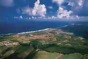 The east coast of Barbados