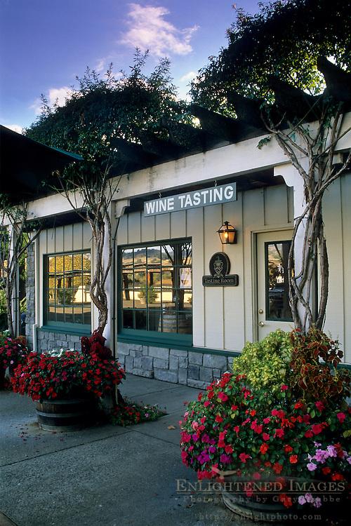 Jepson Vineyards Tasting Room, near Ukiah, Mendocino County, California