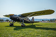 The Grand Champion of the 2014 Hood River Fly-In a 1938 Fairchild 24K at WAAAM.