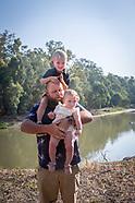 Sal, Will, Annie with kids