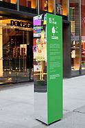 UNGA Pillars | Fifth Avenue Activation