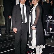 London,England,UK : 8th April 2016 : Joshua Kane, Saadiya Khan  attend the The Asian Awards 2016 at Grosvenor House Hotel, Park Lane, London. Photo by See Li