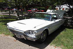 01 August 2015:  1966? Thunderbird<br /> <br /> Displayed at the McLean County Antique Automobile Association Car show at David Davis Mansion in Bloomington Illinois