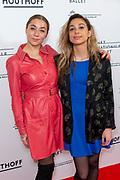 Wereldpremiere Frida in de Nationale Opera & Ballet.<br /> <br /> Op de foto:  Ploni van der Wansem en Nona van der Wansem