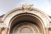 Beautiful detail of the architecture on the Saigon Opera House.