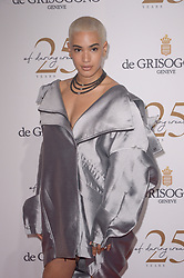 Mette Towley attending the DeGrisogono party during the 71st Cannes Film Festival in Antibes, France, on May 15, 2018. Photo by Julien Reynaud/APS-Medias/ABACAPRESS.COM