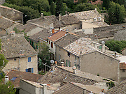 rooftops of an old France village in the Provence