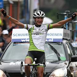 Sportfoto archief 2011<br /> Marianne Vos onderweg naar de Nederlandse titel in Ootmarsum