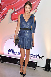 SARAH ANN MACKLIN at the launch of The Lulu Perspective to celebrate 25 years of Lulu Guinness held at 74a Newman Street, London on 13th September 2014.