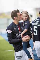 Falkirk's Aaron Muirhead. <br /> Falkirk 1 v 0 Morton, Scottish Championship game  played 1/5/2016 at The Falkirk Stadium.