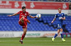 Seamus Conneely of Accrington Stanley passes the ball - Mandatory by-line: Arron Gent/JMP - 16/10/2020 - FOOTBALL - Portman Road - Ipswich, England - Ipswich Town v Accrington Stanley - Sky Bet League One