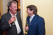 JEREMY CLARKSON; CHARLIE BROOKS, Tatler magazine Jubilee party with Thomas Pink. The Ritz, Piccadilly. London. 2 May 2012
