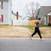 Jeff Keats, a 70 year old Korean War veteran and retired insurance sales man, sprints every day at 11am near his home in north Charlotte.