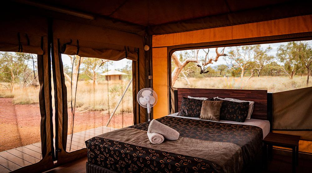 Karijini Eco Retreat in the Pilbara region of Western Australia.