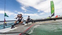 3rd March 2016. Fremantle, WA. World Match Racing Tour.