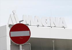 17.03.2020, Thondorf, Graz, AUT, Schließung des Magna Werks in Graz aufgrund des Corona Virus, im Bild die Westeinfahrt // The Magna car factory in Graz was closed due to the Corona virus on 2020/03/17, in Graz, Austria on 2020/03/17. EXPA Pictures © 2020, PhotoCredit: EXPA/ Erwin Scheriau