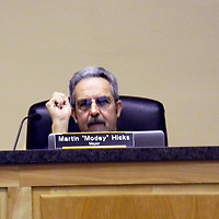 """Grants Mayor Martin """"Modey"""" Hicks told the board about his recent meeting with Forestry staff and Congressman Steve Pierce  Monday during the Grants City Council meeting."""