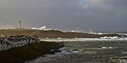 Gales and big seas at The Rhinns Lighthouse on Orsay