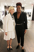 New York, NY-December 3: (L-R) Deborah Clark, SVP, Marketing, Lafayette 148 and Author/Designer Harriete Cole attends Harriette Cole's 20th Anniversary Business Celebration held at Lafayette 148 Headquarters on December 3, 2015 in New York City.  (Photo by Terrence Jennings/terrencejennings.com)