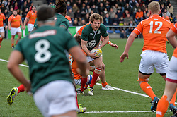 March 4, 2017 - Amsterdam, Netherlands - Manuel Villa Pereira of Portugal during the Rugby Europe Trophy match between the Netherlands and Portugal at the National Rugby Centre Amsterdam on March 04, 2017 in Amsterdam, Netherlands  (Credit Image: © Andy Astfalck/NurPhoto via ZUMA Press)
