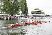 Henley Royal Regatta, Henley on Thames, Oxfordshire, 3-7 July 2013.  Wednesday  15:06:37   03/07/2013  [Mandatory Credit/Intersport Images]<br /> <br /> Rowing, Henley Reach, Henley Royal Regatta.<br /> <br /> The Thames Challenge Cup<br />  Kingston Rowing Club 'B'