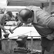 Blacksmiths and Historical Interpreters