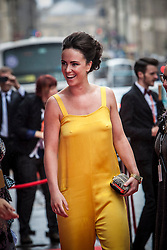 Amy Manson.<br /> Closing night of EIFF gala screening of Not Another Happy Ending at the Festival Theatre.<br /> ©Michael Schofield.