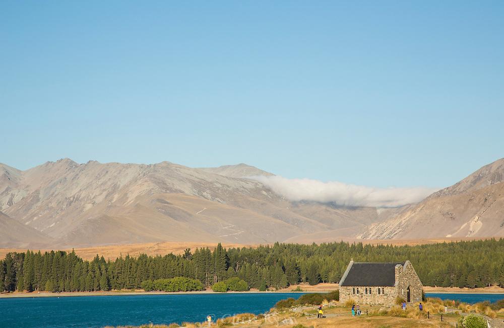Church of the Good Shepherd on Lake Tekapo, South Island, New Zealand