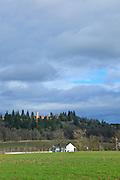 USA, Oregon, Mt. Angel, an abbey