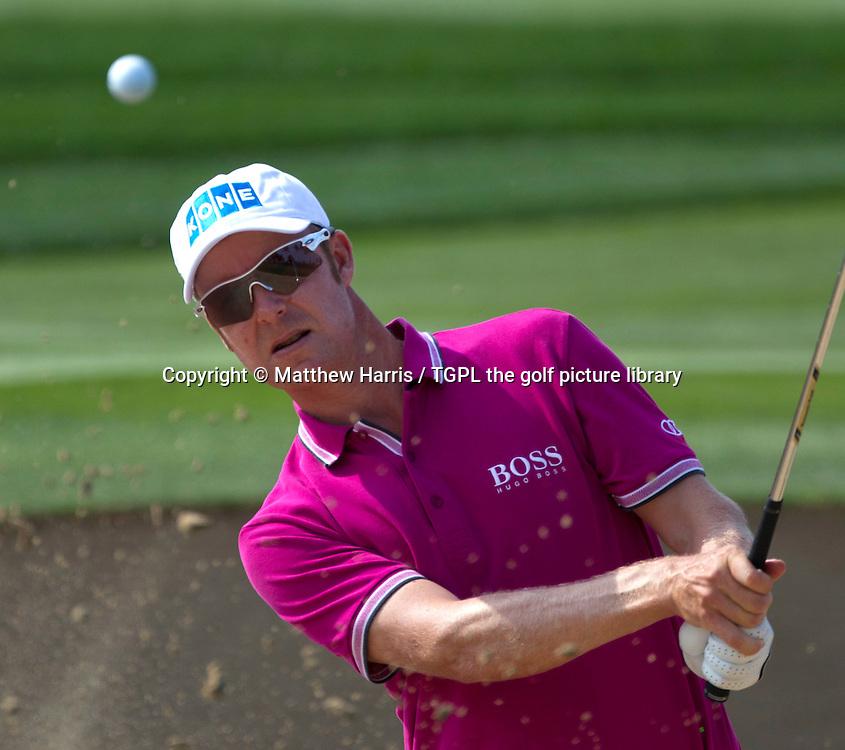 Mikko ILONEN (FIN) during fourth round Omega Dubai Desert Classic 2014, Emirates Club,Dubai,UAE.