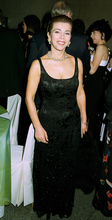 PRINCESS FIRYAL OF JORDAN at a dinner in London on 1st July 1997.LZW 114