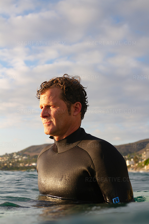 Portrait of Surfrider Foundation CEO Chad Nelsen in Laguna Beach, Calif. Photo © Robert Zaleski / rzcreative.com<br /> —<br /> To license this image contact: robert@rzcreative.com