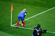 Antoine Griezmann (FRA) to kick a corner during the 2017 Friendly Game football match between France and Wales on November 10, 2017 at Stade de France in Saint-Denis, France - Photo Stephane Allaman / ProSportsImages / DPPI