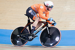 March 2, 2019 - Pruszkow, Poland - Jeffrey Hoogland of the Netherlands competes in the Men's sprint qualifying race on day four of the UCI Track Cycling World Championships held in the BGZ BNP Paribas Velodrome Arena on March 02 2019 in Pruszkow, Poland. (Credit Image: © Foto Olimpik/NurPhoto via ZUMA Press)