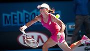 Australian Samantha Strosur in Day 1 Australian Open play. Stosur beat Klara Zakopalova (CZE) 6-3, 6-4 in first round play of the 2014 Australian Open at Melbourne's Rod Laver Arena. beat Klara Zakopalova (CZE) 6-3, 6-4 in first round play of the 2014 Australian Open at Melbourne's Rod Laver Arena.