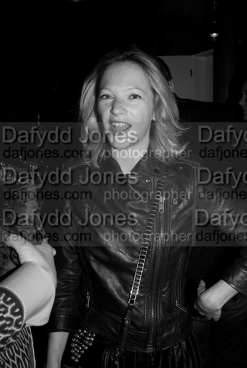 NATHALIE PRESS, The Launch of the Cavalli Selection. 17 Berkeley St. London. 29 May 2008.   *** Local Caption *** -DO NOT ARCHIVE-© Copyright Photograph by Dafydd Jones. 248 Clapham Rd. London SW9 0PZ. Tel 0207 820 0771. www.dafjones.com.