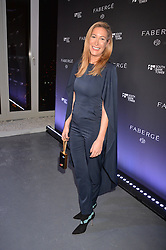 LONDON, ENGLAND 6 DECEMBER 2016: <br /> Laura Pradelska at the Fabergé Visionnaire DTZ Launch held on the 39th Floor Penthouse, South Bank Tower, Upper Ground, London, England. 6 December 2016.